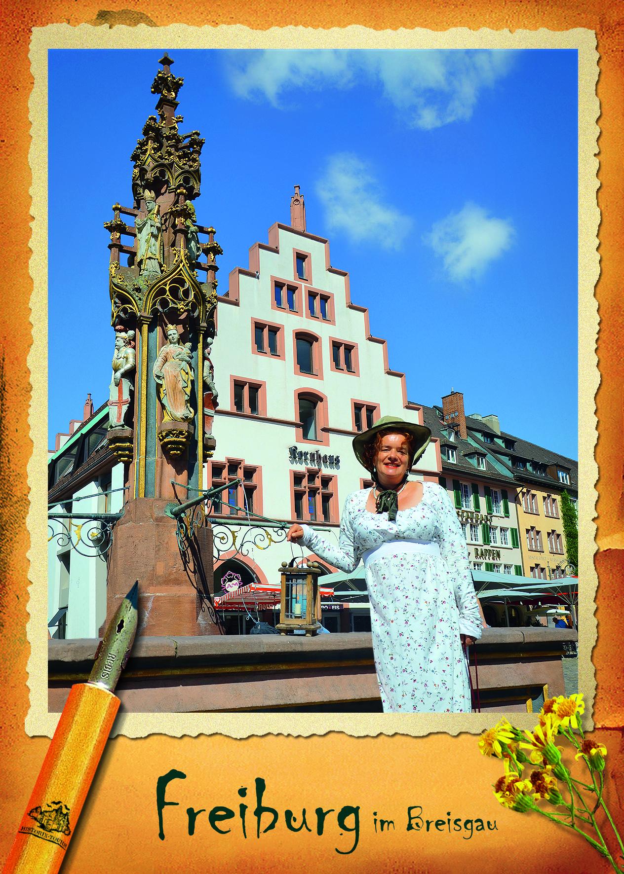 Scherz, Prestige und Puderstaub – Witzige historische Event-Tour um das adelige Freiburg