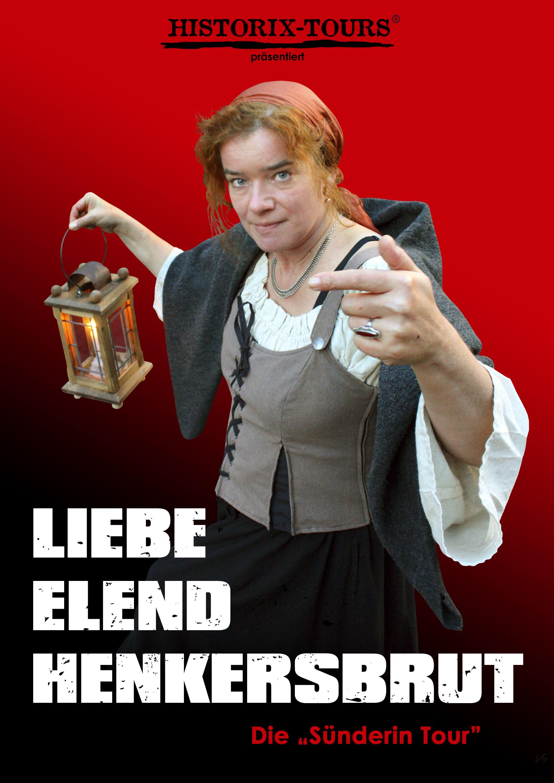 """Liebe, Elend, Henkersbrut – Packende Theater-Tour mit der historischen """"Anna Gaißerin"""""""