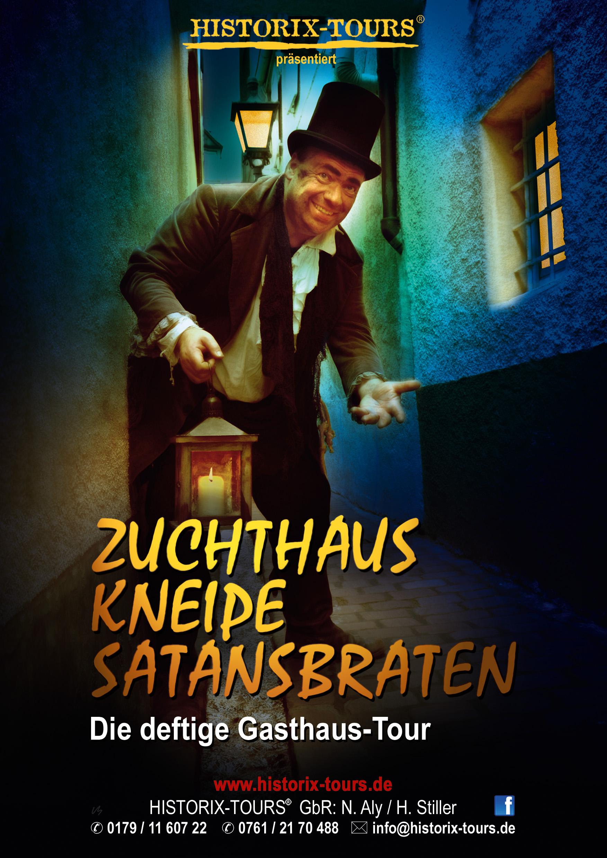 """Zuchthaus, Kneipe, Satansbraten – Die Gasthaus-Tour mit """"Meister Albert, dem König der Wolfshöhle"""""""