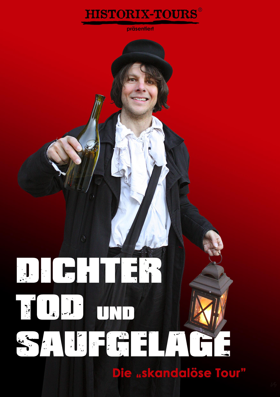 """Dichter, Tod und Saufgelage – Die urige Tour mit """"Freiherr Joseph von Auffenberg"""""""