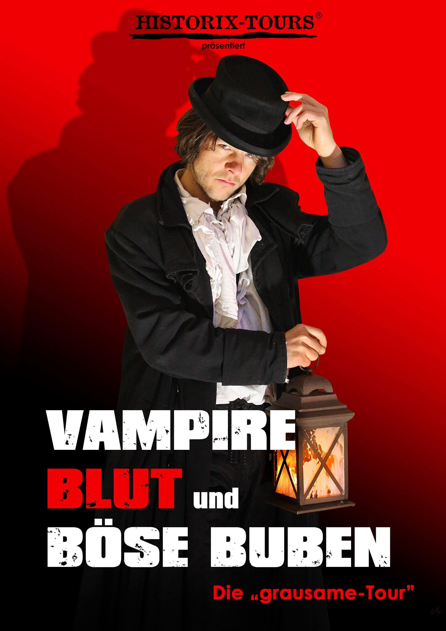 Vampire, Blut und böse Buben – Ghost-Walk zzgl. einen Bier/Soft-Drink