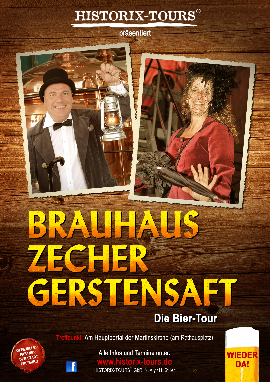 Bier-Tour: Brauhaus, Zecher, Gerstensaft