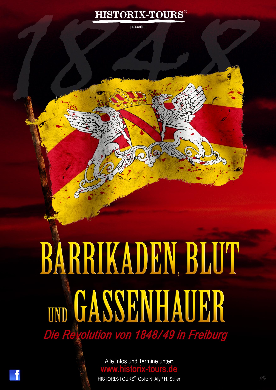 Sondertour: Barrikaden, Blut und Gassenhauer – Die Revolution von 1848/49 in Freiburg