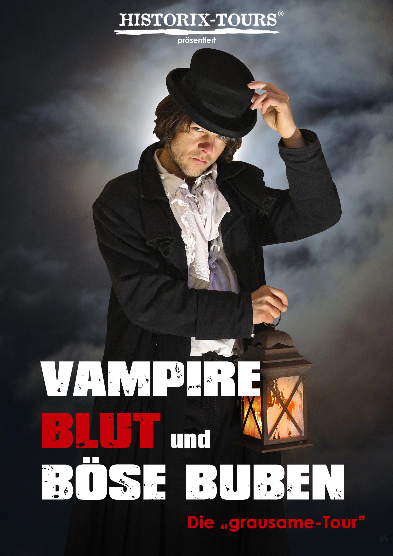 """""""Vampire, Blut und böse Buben"""" – Ghost-Walk (ohne Anmeldung)"""