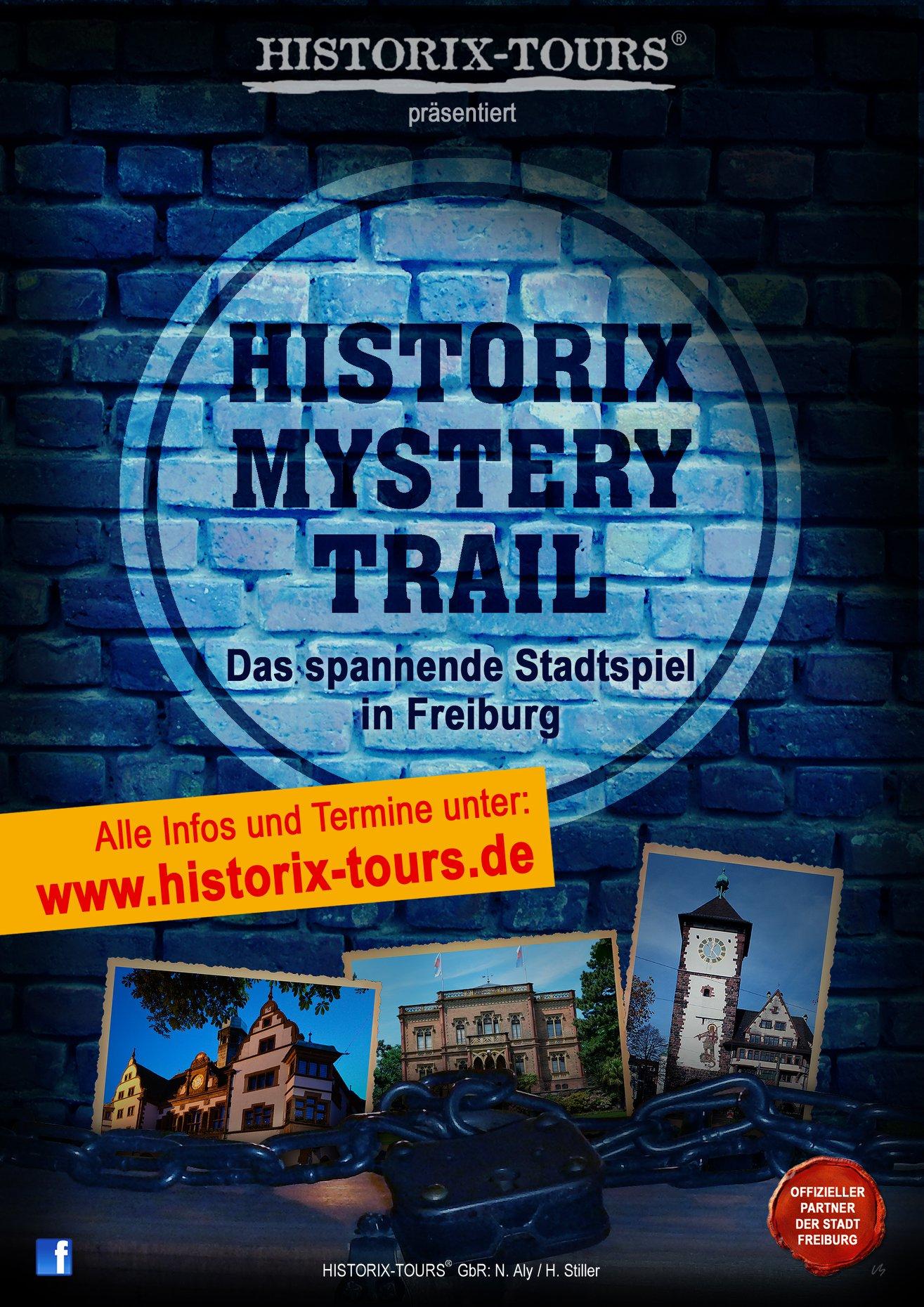 """""""Historix-Mystery-Trail – Der Geheimbund"""" (Anmeldung erforderlich)"""