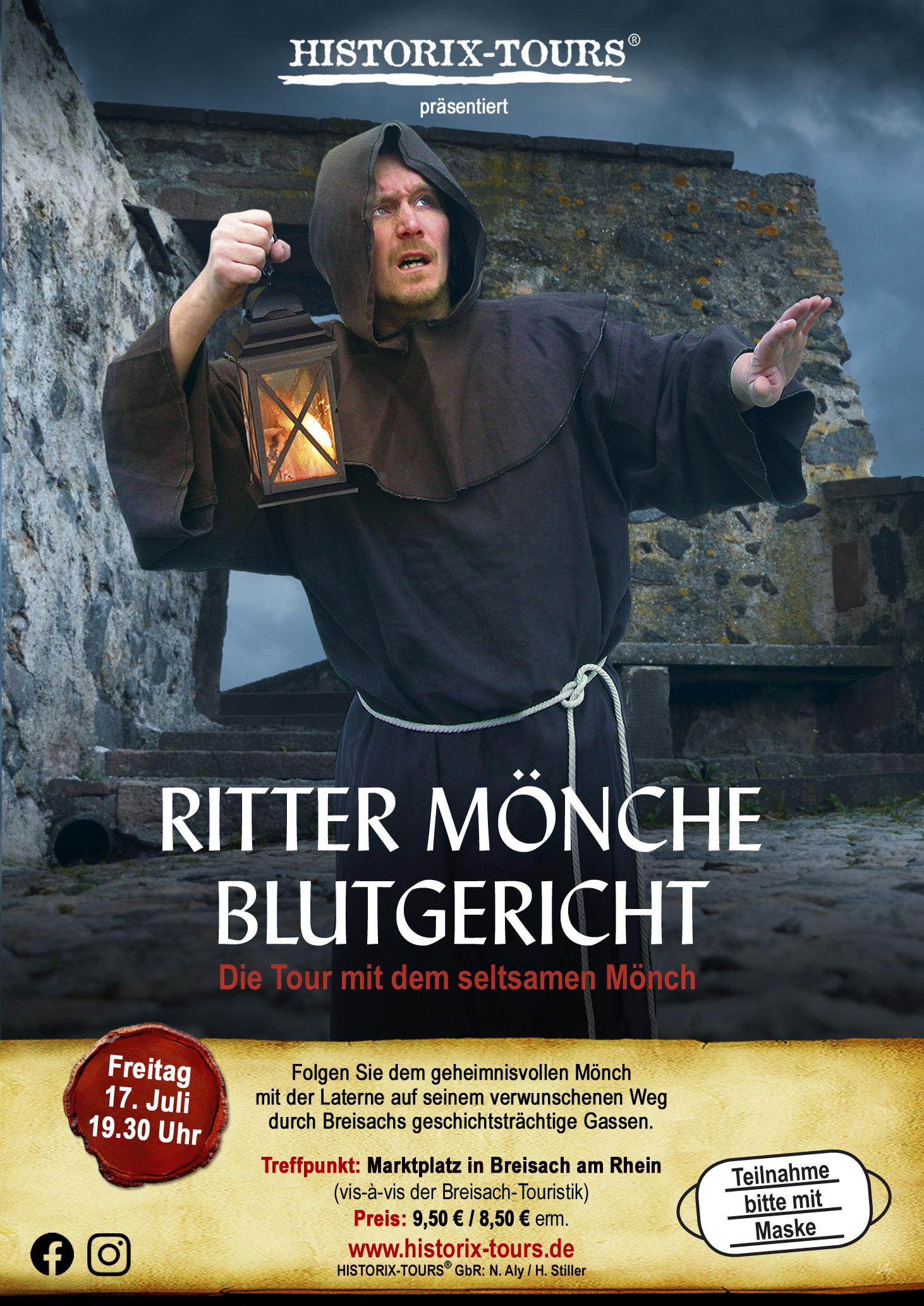 """In Breisach: """"Ritter, Mönche, Blutgericht"""" (ohne Anmeldung)"""