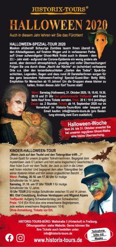 Halloween mit Historix-Tours