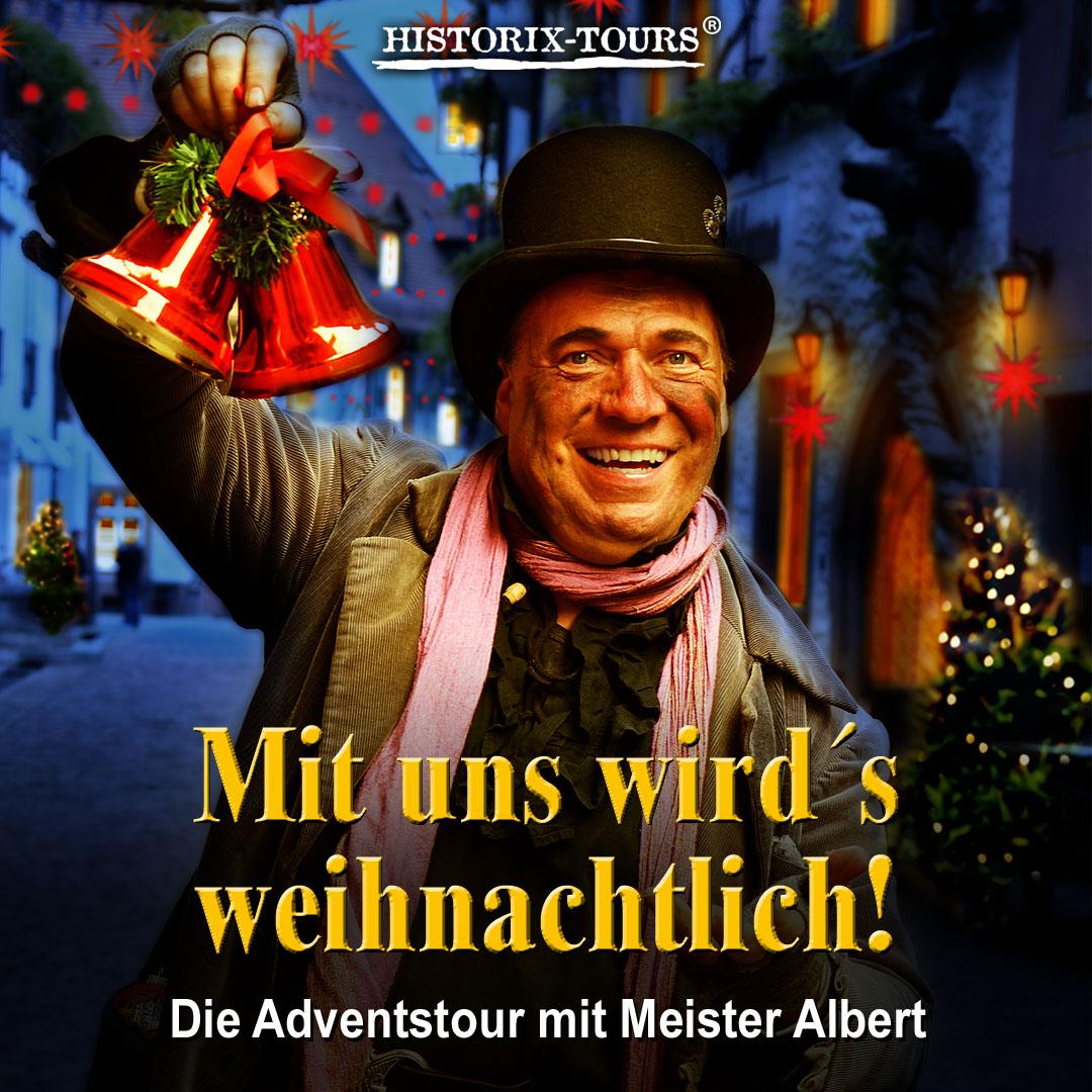 """""""Glühwein, Punsch und Weihnachtsträume"""" – Die Advents-Tour (ohne Anmeldung)"""